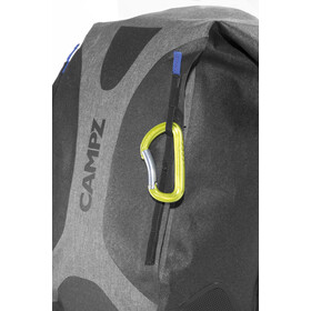 CAMPZ WP Dry Bag Selkäreppu, grey/black
